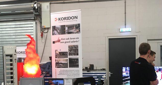 Koridon aanwezig op open dag van Tetrix Techniek