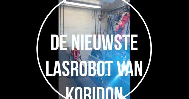 Nieuwe lasrobot